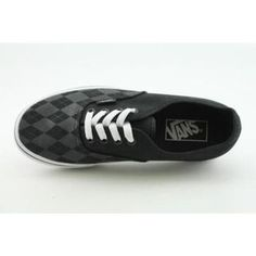 new styles 012bf dfa40 Vans Men s Authentic Black Casual Shoes   Overstock.com Skate Shoes, Vans  Shoes,
