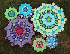 Made by Wendy Walsh. Kaffe Fassett fabrics.