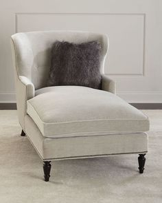 Shop Addie Chaise from Bernhardt at Horchow, where you'll find new lower shipping on hundreds of home furnishings and gifts. Furniture Companies, Furniture Sale, Furniture Design, Cheap Furniture, Discount Furniture, Furniture Decor, Chaise Lounge Bedroom, Chaise Lounges, Lounge Chairs