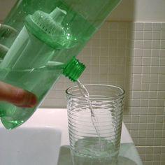 Como filtrar agua reutilizando botellas plásticas...muy fácil!