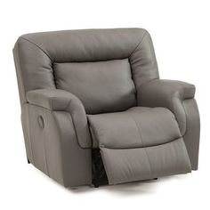 Palliser Furniture Leaside Wall Hugger Recliner Upholstery: Bonded Leather - Champion Khaki, Leather Type: Bonded Leather, Type: Power