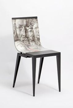 Maurizio Favetta - Billboard chair Billboard, Accent Chairs, Furniture, Home Decor, Chairs, Upholstered Chairs, Homemade Home Decor, Signage, Home Furnishings