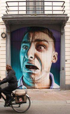 Realistic Street Art by Smug
