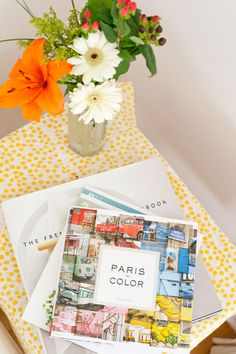 Paris in Color featured in Spaces by Jennifer Chong