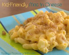 The Kids would LOVE this Kid-Friendly Homemade Mac 'n Cheese {Recipe} for lunch #YoYoBirthday
