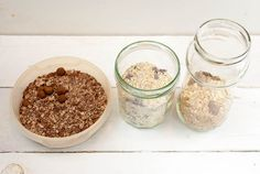 Oatmeal To Go in drei Varianten – Kaffee & Cupcakes