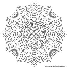 The vector file Mandala Des Geometrical CDR File is a Coreldraw cdr ( .cdr ) file type, size is KB, under mandala ornaments, pattern, snowflakes vectors. Geometric Coloring Pages, Mandala Coloring Pages, Coloring Book Pages, Printable Coloring Pages, Free Coloring Sheets, Pattern Coloring Pages, Mandala Pattern, Mandala Design, Vector Art