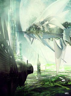 slashTHREE - SteamPunk Artpack XII - artworks by Sorin Bechira, via Behance