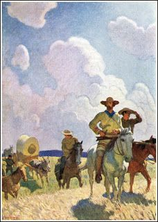 n.c. wyeth...the oregon trail