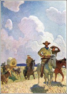 n.c. wyeth...the oregon trail