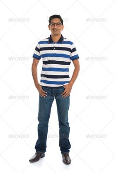 cheerful casual indian man full body isolated on white ...  Malaysian, adult, arms crossed, blue, casual, cheerful, confident, cute, cutout, ethnic, ethnicity, full body, full length, good looking, guy, handsome, happy, india, indian, indoors, isolated, jeans, looking, lovely, male, man, model, modern, person, portrait, posing, smile, standing, studio, t-shirt, white background, young, youth