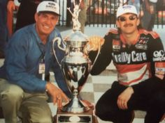 Dale Jarrett winner of the last race on the old configuration in March of 1997.