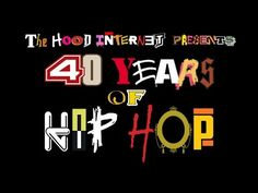 A Four Minute Tribute to 40 Years of Hip Hop Featuring 150 Songs From 100 Different Artists