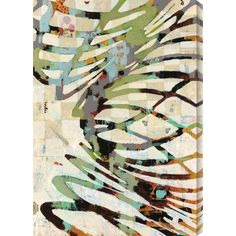"""Gallery Direct Twist II by Judy Paul Graphic Art on Canvas Size: 21"""" H x 30"""" W"""