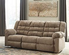 Workhorse Reclining Sofa | Ashley Furniture HomeStore