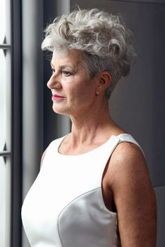 Short & Curly Hairstyles for Older Women | Pinterest | Curly ...