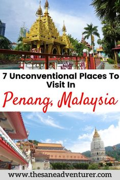 Penang have plenty of partying spots there are places that you cannot fail to visit. Some are areas where you get to enjoy afternoons full of activities with chilled cozy evenings. Here are 7 unconventional places to visit in Penang. Travel Guides, Travel Tips, Travel Destinations, Holiday Destinations, Travel Advice, Budget Travel, Malaysia Travel, Asia Travel, Croatia Travel