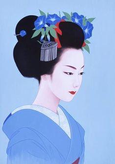 UKIYO - E......BY ICHIRO TSURUTA.....PARTAGE OF JAPANESE ART......ON FACEBOOK.....