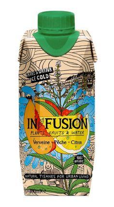 Urban-Style-Kräutertees: »In/Fusion« illustriert von Billie Jean PD