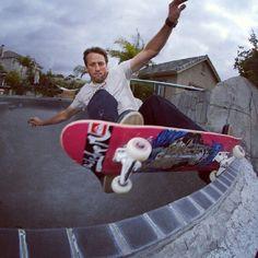 Skateboard legend - Tony Hawk