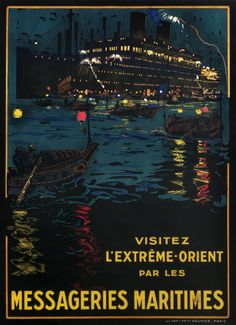 Messageries Maritimes - visitez l'extreme orient by Lachevre, Bernard R.