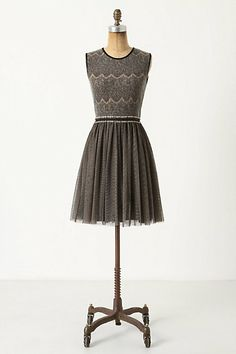 Perfect holiday party dress, from Anthropologie (of course)