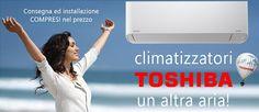 Promozione di Dochouse.it su climatizzatori Toshiba!