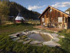 Denton Store, luxury camping in Dunton Hot Spring Colorado