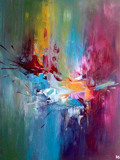 Peinture acrylique sur toile - 80 x 60 cm #reve #onirisme Mini Canvas, Inspiration Art, Pour Painting, Amazing Art, Watercolor Art, Cool Art, Art Drawings, Art Projects, Mandala