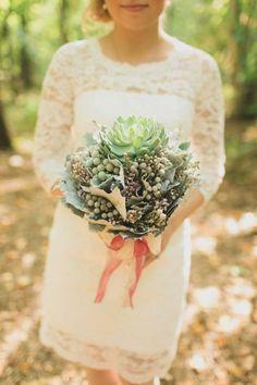 75 fotos de buquês de noiva mais lindos e estilosos que você já viu! Image: 19