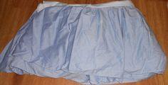 Ralph Lauren Solid blue Ruffled Bed Skirt Dust Ruffle Bedding #RalphLauren