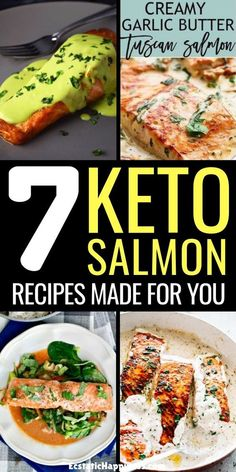 Try these healthy keto salmon recipes today! Baked, Grilled or in Salad, you'll absolutely love these keto dinner recipes with salmon. Salmon Recipe Pan, Grilled Salmon Recipes, Healthy Salmon Recipes, Keto Recipes, Ketogenic Salmon Recipes, Dinner Recipes, Drink Recipes, Baking Recipes, Clean Eating