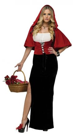 Red Riding Hood Costume - Plus Size Costumes