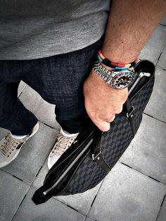 LanvinxLouis VuittonxRolex GMT