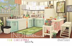 INDI KITCHEN BY STEFIZZI The unexpected become expected, this is my present for all of you!! After months of delay this kitchen...