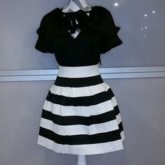 Dresses & Skirts -  Classy & Chic B/W skirt ***only one***