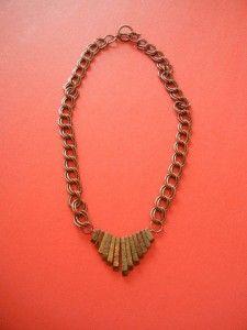 Bronzite Necklace