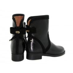 LOU BOOTIES Rubber Rain Boots, Leather Boots, Bootie Boots, Booty, Street Style, Ankle, Shoes, Fashion, Moda