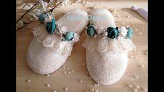 Slipper Decoration, DIY -  Lohusa Terliği Süsleme, Kendin Yap, Erkek Bebek