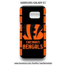 Cincinnati Bengals Samsung Galaxy S7 Case Cover Wrap Around