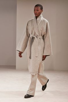 The Row | Fall 2014; Absolute stunner. An outfit that is timeless and ageless is a rare combination. This would be a show-stopper on a woman of any age and will be 50 years from now. I can see this as a very coveted vintage outfit in 2050.