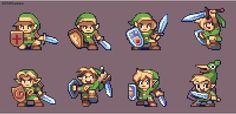 Legend of Zelda - Link Designs by AlbertoV.deviantart.com on @DeviantArt