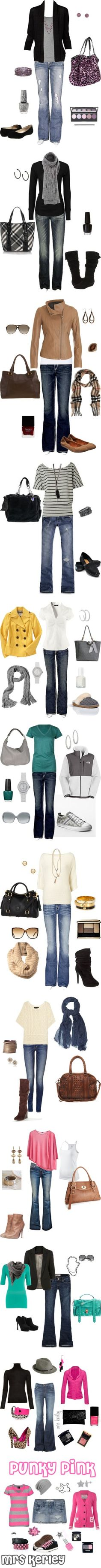 """Casual Weekend Wear"" by snowbny08 on Polyvore"