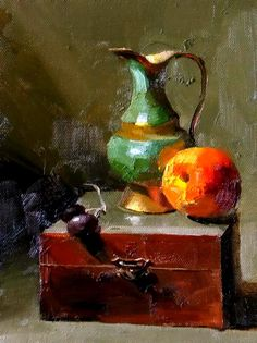 Qiang Huang- Gallery of Paintings by Texas artist Qiang Huang on… Fruit Painting, Matte Painting, Traditional Paint, Still Life Images, Still Life Fruit, Still Life Oil Painting, Impressionist Art, Fashion Painting, Elements Of Art