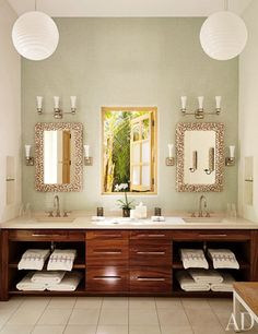 the sconces are from Circa Lighting