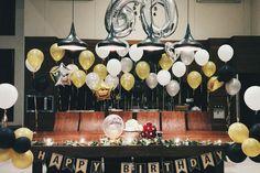Rustic birthday room decoration • Divine project bali