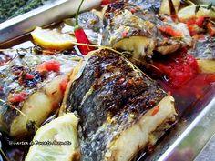 Saramură de peşte Cheesesteak, Seafood, Pork, Ethnic Recipes, Sea Food, Kale Stir Fry, Pigs, Seafood Dishes