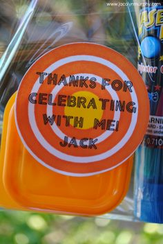 Laser Favors - Perfect for Dylan's Laser tag/go kart  Birthday party!