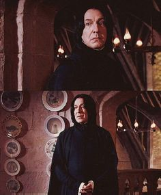 """No idea"" -- Alan Rickman as Severus Snape in HP And The Order Of The Phoenix"