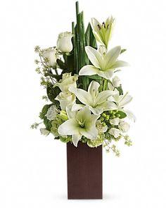 Teleflora's Peace And Harmony Bouquet Vase Arrangement